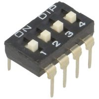 DIP Switch - 4 Position (Low Profile)