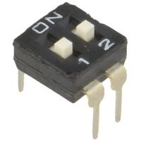 DIP Switch - 2 Position (Low Profile)