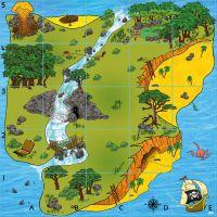 Bee-Bot and Blue-Bot Treasure Island Mat