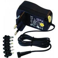 Power Supply 3V/4.5V/5/6/7.5V/9V/12VDC 600mA - MW3N06UGS/6XC8