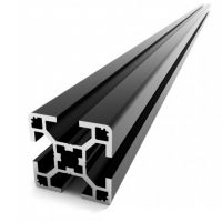 T-Slot 3030 B-Type 500mm - Black Anodized