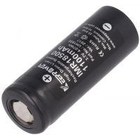 Battery Rechargeable 18500 3.7V - 1100mAh KeepPower