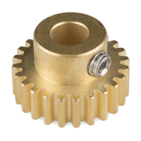 "Gear - Pinion Gear (24T, 0.25"" Bore)"