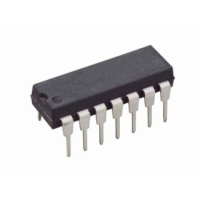MCP3004 - 10bit 4 channel ADC SPI