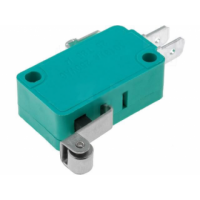 Microswitch SPDT ON-(ON) - with Small Roller