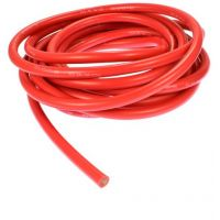Wire Stranded 8AWG - Red (Super Flexible)