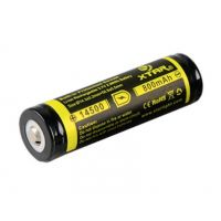 Battery Rechargeable 14500 3.7V - 800mAh XTAR Built-In Protection
