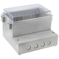 Project Box 165x158x121mm - ABS Grey
