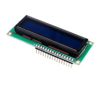 Basic 16x2 Character LCD - White on Blue 5V (with Headers)