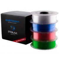 EasyPrint PETG Value Pack - 1.75mm - 4x500g - Clear, Rose, Light Blue, Green