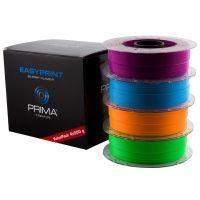 EasyPrint PLA Value Pack Neon - 1.75mm - 4x500g - Blue, Green, Orange, Purple