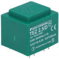 Transformer 230V/12V 2.5VA
