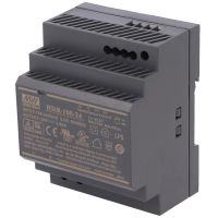 Din Power Supply 24V 3.83A MeanWell - HDR-100-24
