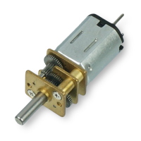 Micro Metal Gearmotor (Extended back shaft) - 75RPM
