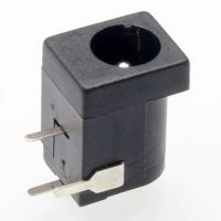 Dc Power Jack 5.5 x 2.1mm - Breadboard Compatible