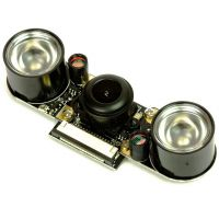 Raspberry Pi Camera Module 5MP 160° (Fisheye) - Night Vision