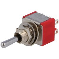 Toggle Switch DP3T (ON)-OFF-(ON) (2A/250V)
