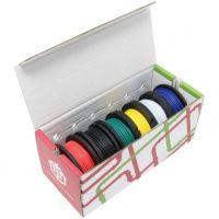 Hook-Up Wire 22AWG / 0.32mm2 - Assortment (Solid Core)