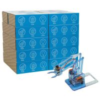 MeArm Robot Classic Maker - Blue 20 Student Classroom Pack