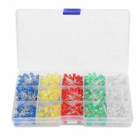 LED 5mm Assortment Kit - 500pcs