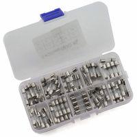 Glass Fuse 5x20 Assortment Kit 0.25-20A - 100pcs