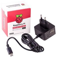 Power Supply 5V 3A - Raspberry Pi 4 Official (Black)