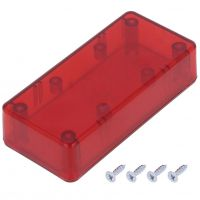Project Box 95x45x23mm - Red