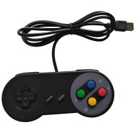 Gamepad USB Controller Retro SNES - Black