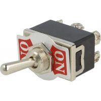 Toggle Switch DPDT ON-ON (10A/250VAC)