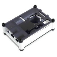 Waveshare Case for Raspberry Pi 4 with Cooling Fan Black/White