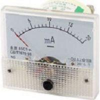 Panel Ammeter 60x60mm 0-200mA