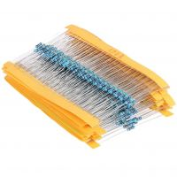 Metal Resistor Assortment Kit - 600pcs