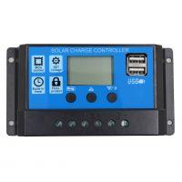Solar Battery Charger Regulator 10A - Dual USB