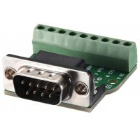 DB9 Male Screw Terminal to RS232/RS485 Conversion Board