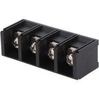 Screw Terminals 16mm Pitch (4-Pin) 41A Black