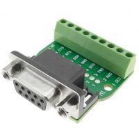 DB9 Female Screw Terminal to RS232/RS485 Conversion Board