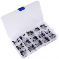 Electrolytic Capacitor Assortment Kit 0.1-220uF - 200pcs