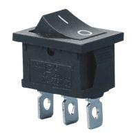 Rocker Switch ON-ON SPDT 3A/250VAC - Mini Black