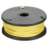 Hook-up Wire Stranded 22AWG / 0.32mm - Yellow 7.5m