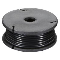 Hook-up Wire Stranded 22AWG / 0.32mm - Black 7.5m