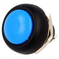 Push Button Momentary - 12mm Blue
