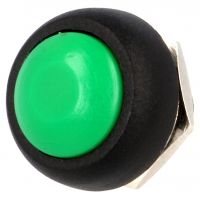 Push Button Momentary - 12mm Green