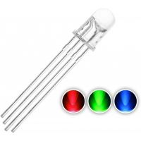 LED Clear 5mm RGB - Common Cathode