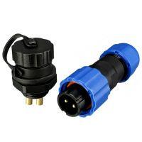 Waterproof Connector IP68 13mm 2-Pin - Set