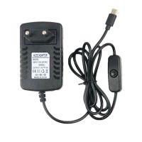 Τροφοδοτικό 5V 3A - Output USB-C με Διακόπτη (για Raspberry Pi 4)