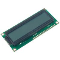 Basic 16x2 Character LCD - Black on Gray