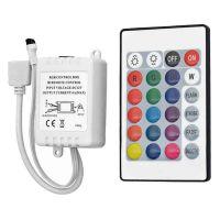 Led Strips Controller RGB & IR Remote