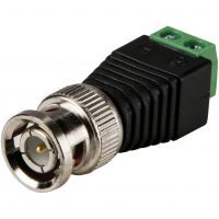 BNC Connector Male - Screw Terminal