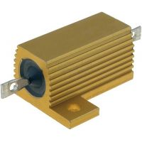 Power Resistor 25W 100ohm With Heatsink