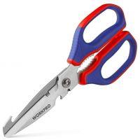 Heavy Duty Stainless Steel Scissors - Workpro